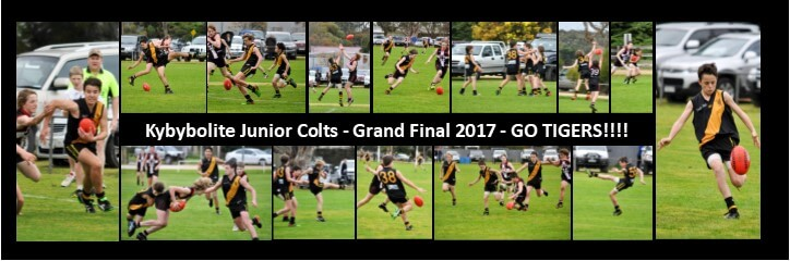 Junior Colts in Grand Final 2017 | Kyby Tigers