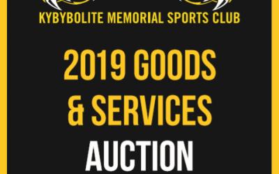 Goods & Services Auction 2019