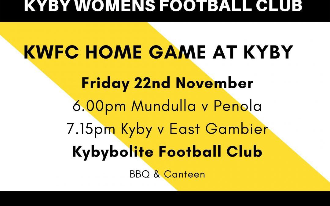 KWFC Home Game at Kyby