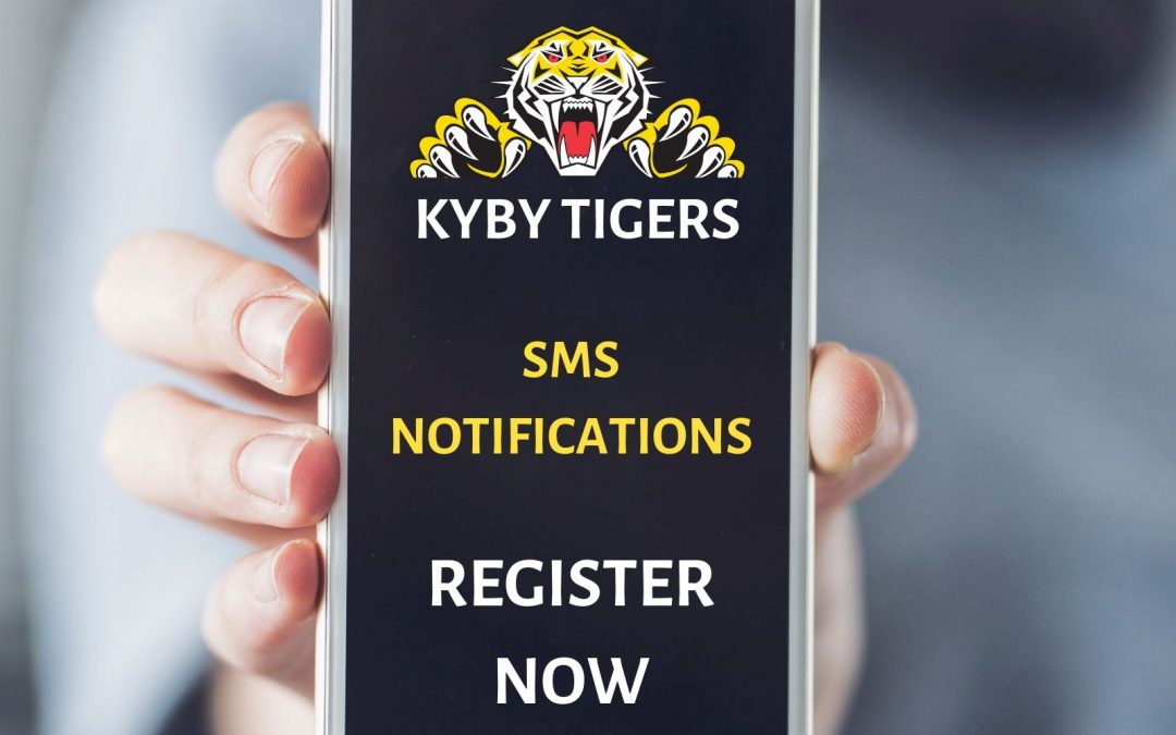 Register for SMS notifications