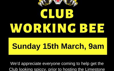 Working Bee – March 2020