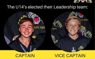 Junior Football Leaders for 2020