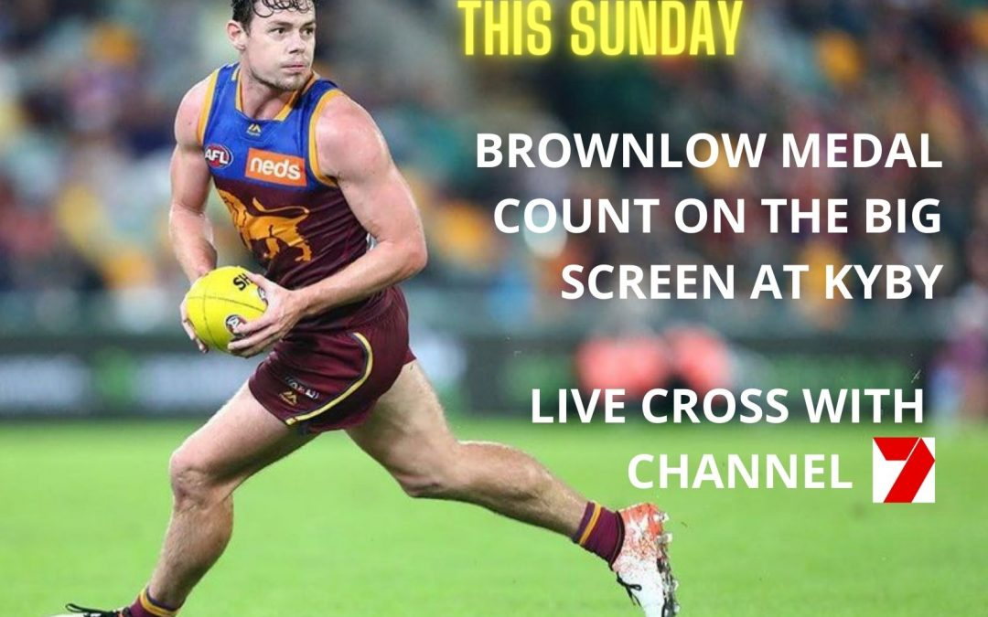 Brownlow at Kyby with Channel 7