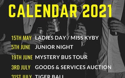Social Calendar 2021
